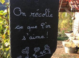 On récolte ce que l'on s'aime