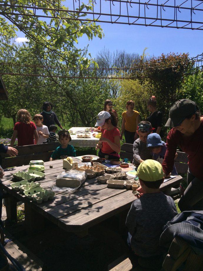 Atelier biodiversité enfants